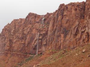 Thanksgiving and Kayenta water falls 013